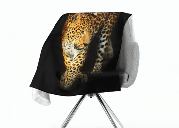 Fleecepeitto Beautiful Jaguar 130x150 cm ED-147033