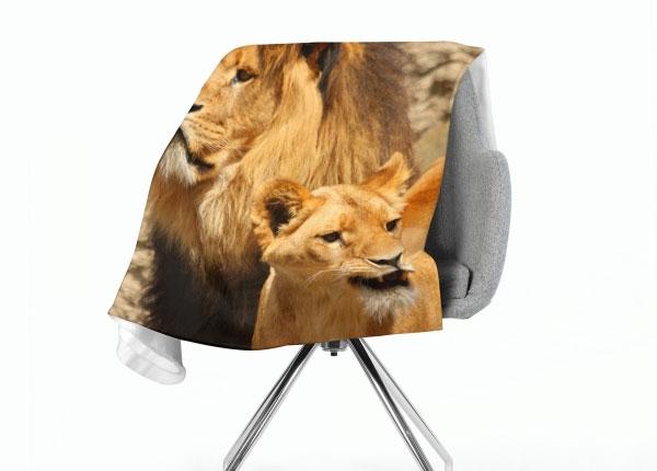 Флисовый плед Lions 130x150 см ED-147070