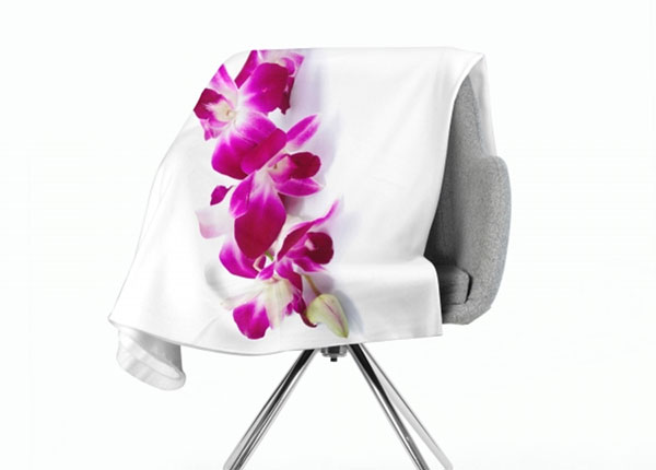 Fleecepeitto Purple-Crimson Orchid 130x150 cm ED-147083