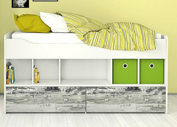 Кровать с ящиками 90x200 cm