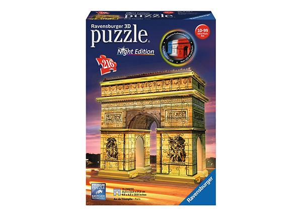 Светящаяся в темноте 3D головоломка Триумфальная арка 216 элементов
