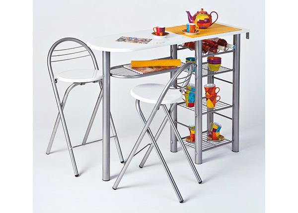 Baaripöytä ja 2 tuolia FRIDA AY-147465