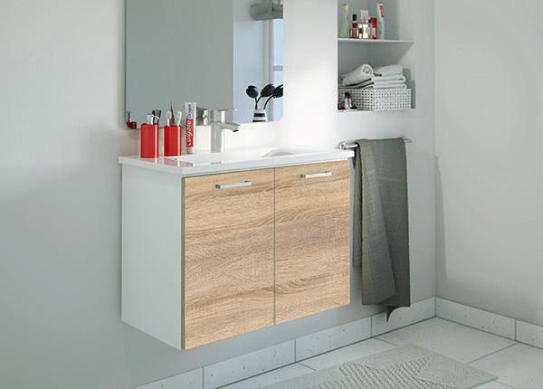 Kylpyhuoneen kaappi pesualtaalla AY-147512