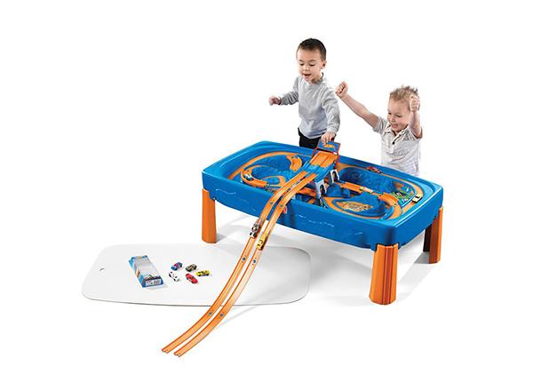 rallirata-leikkipöytä Hot Wheelsi™ autoilla