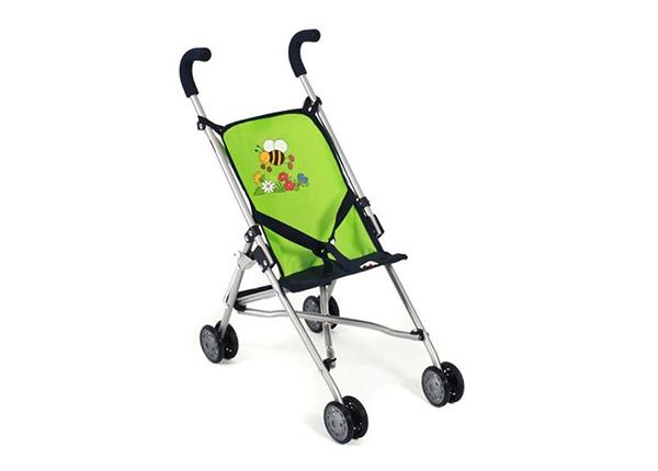 Кукольная коляска Roma зеленого цвета KE-147602