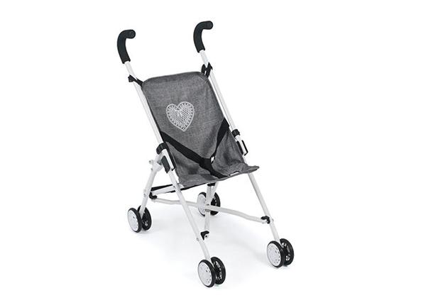 Кукольная коляска Roma серого цвета KE-147604