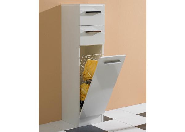 Kylpyhuoneen kaappi pyykkikorilla Trier CD-147894