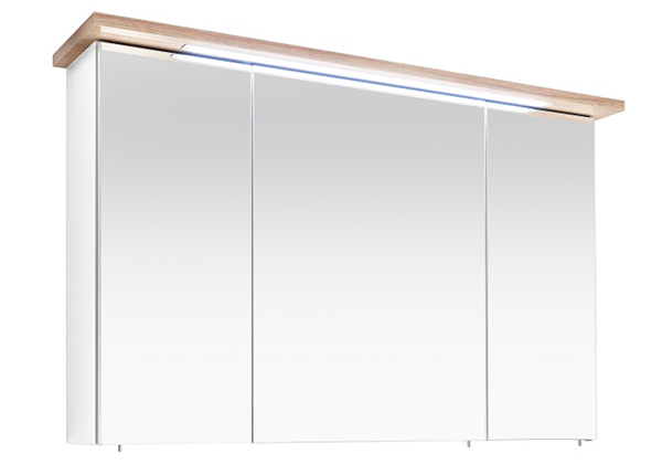 Peilikaappi LED-valaisimella Noventa