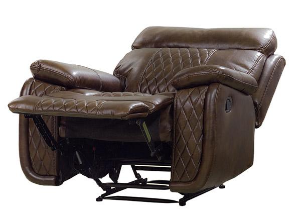 Nojatuoli Relax23, tummanruskea
