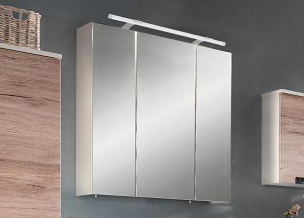 Зеркальный шкаф с LED-освещением Mars