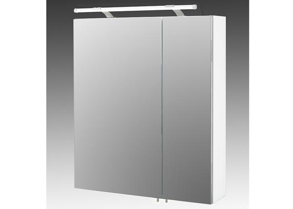 Зеркальный шкаф с LED-освещением Dorina