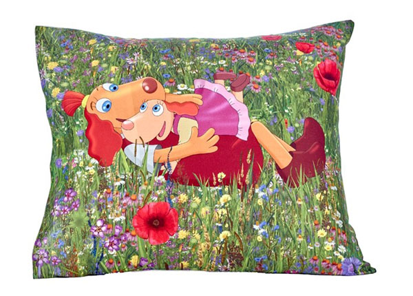 Bradley tyynyliina 50x60 cm Lotte siskon kanssa maalla BB-148654