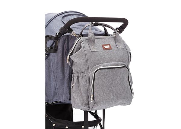 Hoitolaukku harmaa UP-149206