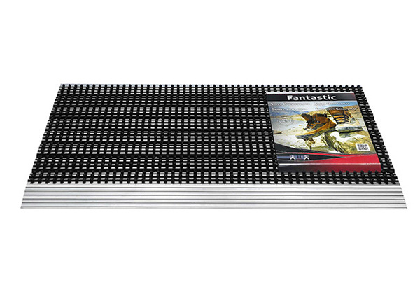 Harjasmatto Fantastic Alu 43x75 cm AA-149594