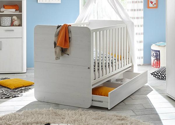 Детская кроватка Lara 70x140 cm SM-149693