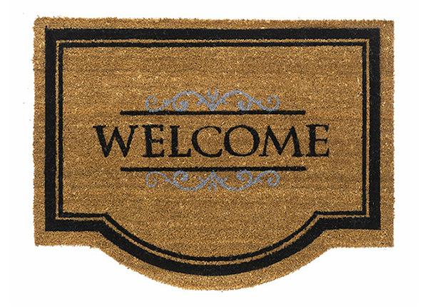 Дверной мат Coco Classic Welcome 60x80 см AA-149713