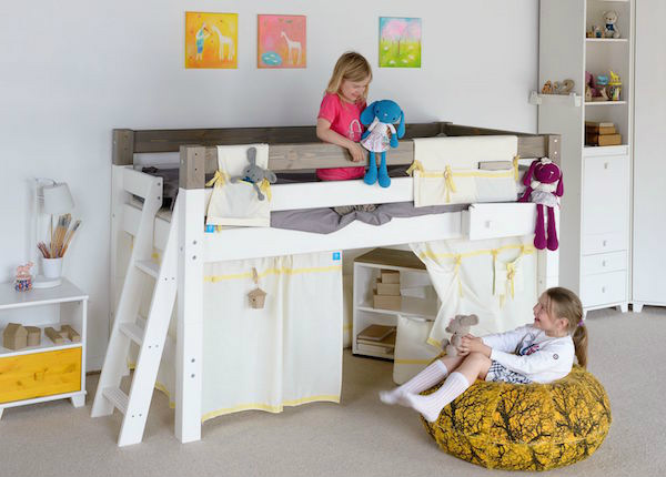Двухъярусная кровать 90x200 см IF-150132