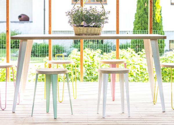 Ruokapöytä Toni 160x80 cm