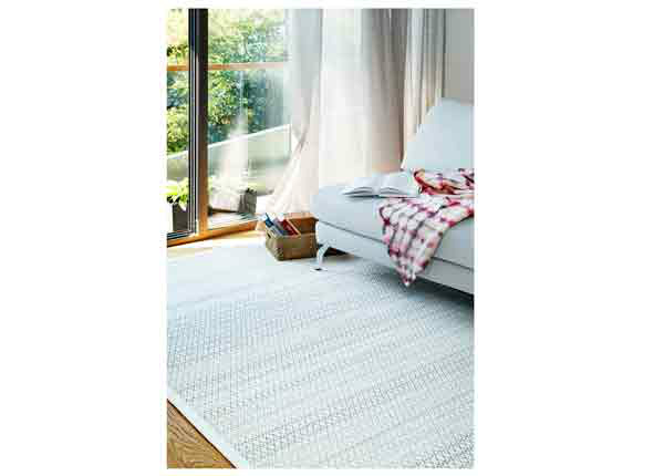 Narma smartWeave® vaip Tsirgu white 70x140 cm