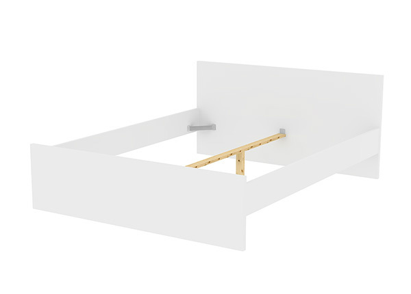 Sänky Naia + pohja 160x200 cm