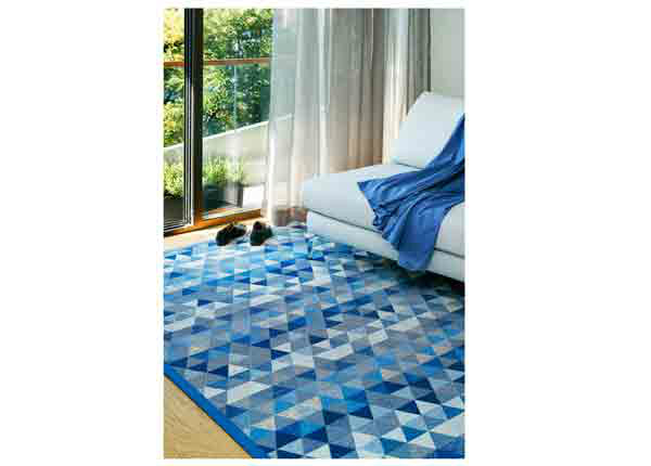 Narma smartWeave® vaip Luke blue 70x140 cm