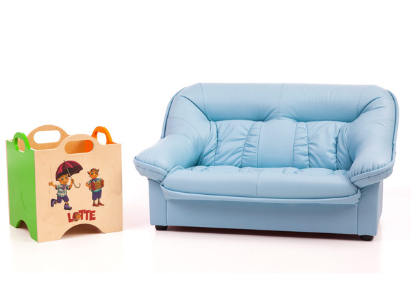 Laste diivan Mini Spencer + mänguasjakast Lotte VR-151432