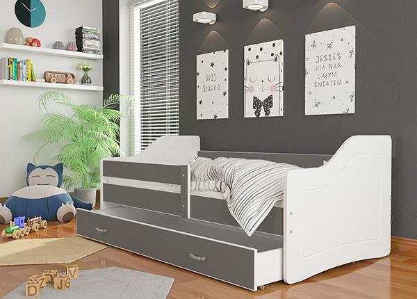 Lastensänky vuodevaatelaatikolla 80x200 cm