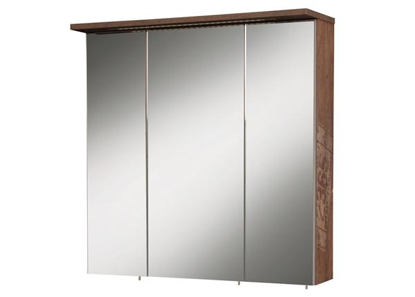 Зеркальный шкаф с LED-освещением Milan