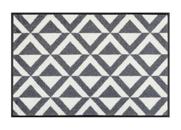 Uksematt Alvar grey 50x75 cm A5-152206