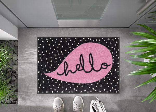 Uksematt Hello Dots 50x75 cm