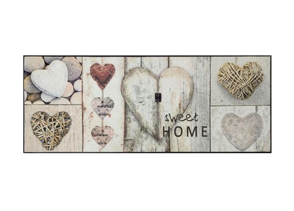 Matto Vintage Hearts 75x190 cm A5-152247