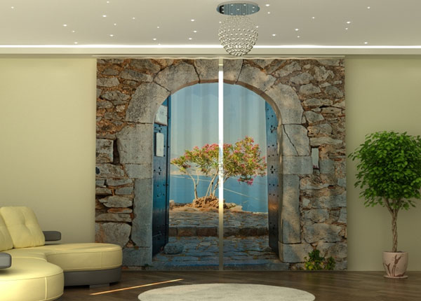 Poolpimendav kardin Archway to the Sea 290x245 cm ED-152332