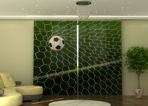 Poolpimendav kardin Football Ball in Goal 290x245 cm ED-152336