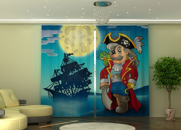 Poolpimendav kardin Pirate 290x245 cm ED-152339