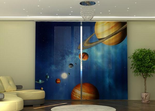 Полузатемняющая штора Solar System 290x245 см ED-152341