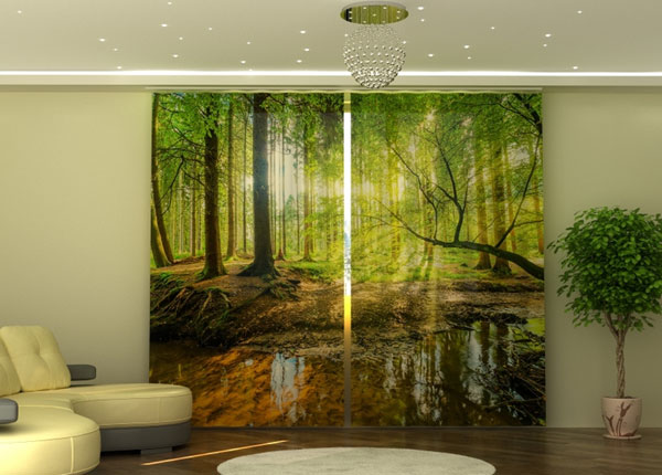 Poolpimendav kardin Sunbeams in the Forest 290x245 cm ED-152343