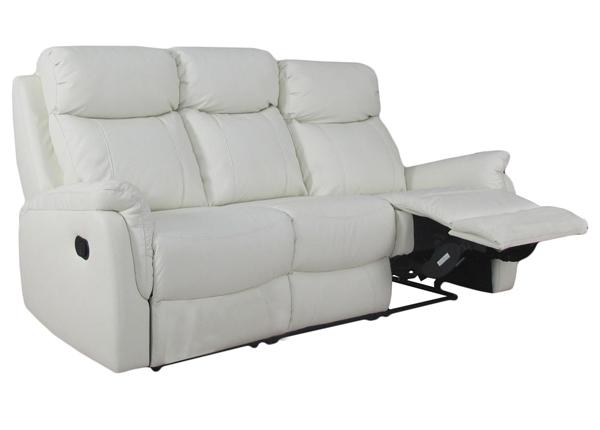 3-местный диван с механизмом подножки Victoria