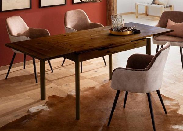 Удлиняющийся обеденный стол Tirza 120-200 cm