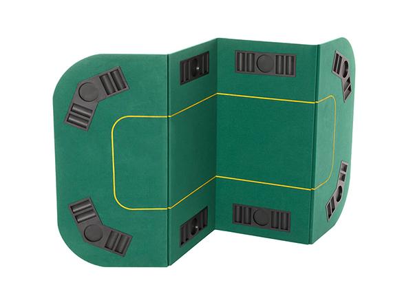Складной коврик для игры в покер