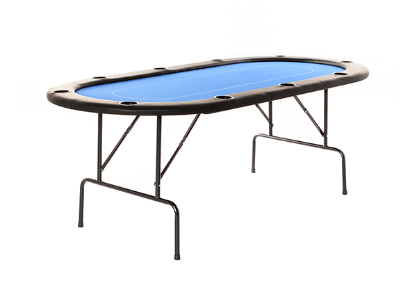 Pokeripöytä sininen