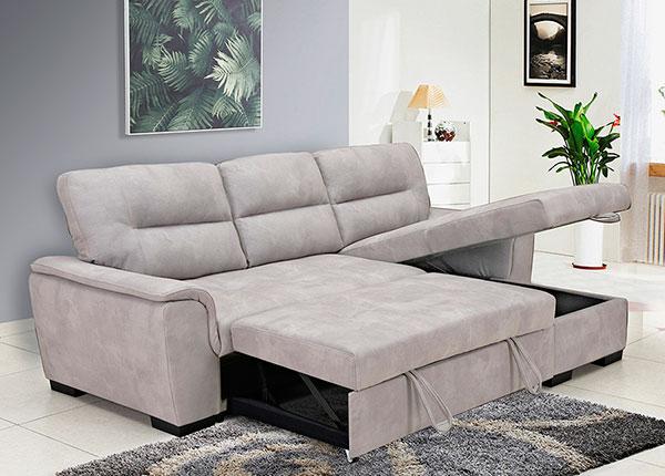 Угловой диван-кровать с ящиком Almira
