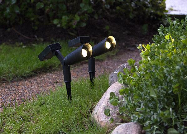 Aurinkopaneeli puutarhavalot (2 kpl)