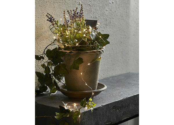 Valoketju aurinkopaneelilla