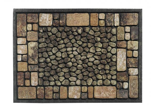 Uksematt Ecomat Croix 40x60 cm