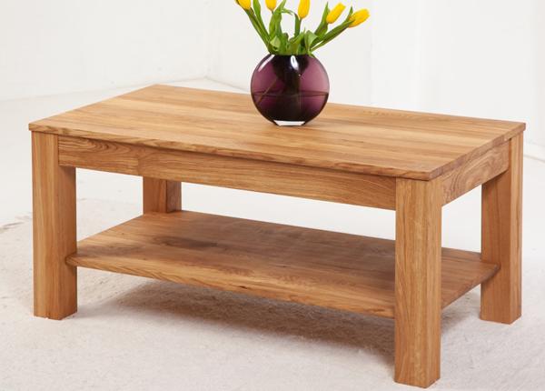 Sohvapöytä tammea Cubic 110x60 cm EC-153288