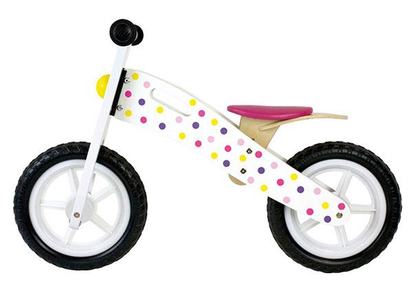 Puinen potkupyörä GB-153421