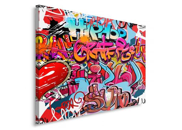 Seinätaulu Hipphopp graffit 30x40 cm ED-153437