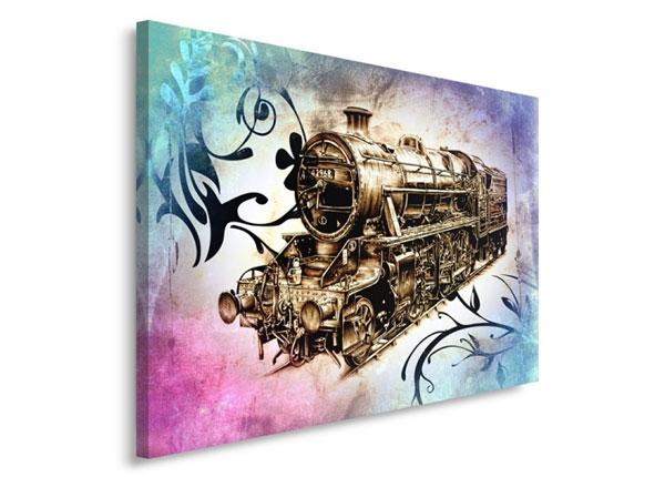 Seinätaulu Locomotive 30x40 cm ED-153444