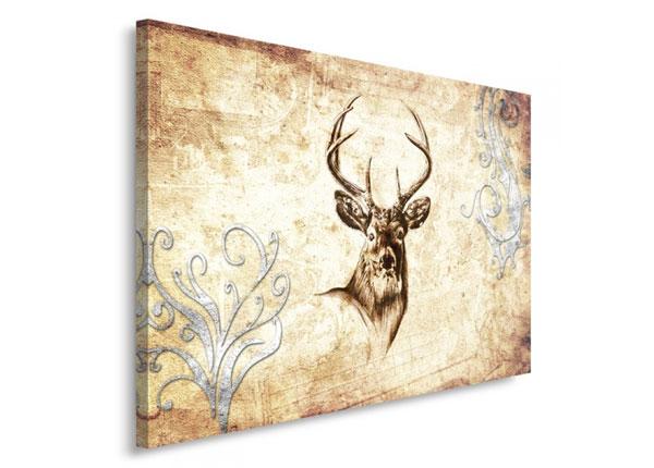 Seinätaulu Deer's head 1 30x40 cm ED-153458