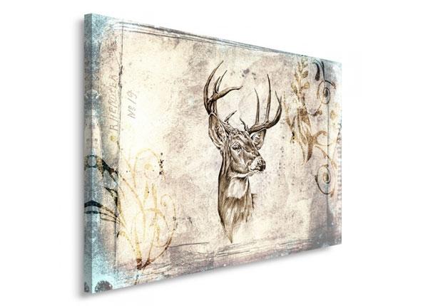 Seinätaulu Deer's head 30x40 cm ED-153495